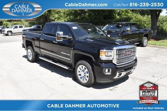 2019 Onyx Black GMC Sierra 2500HD Denali Duramax 6.6L V8 Turbodiesel Engine Automatic 4X4