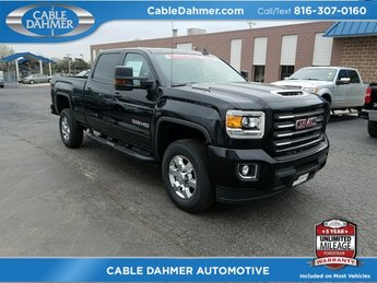 2018 Onyx Black GMC Sierra 2500HD SLT 4 Door Truck 4X4