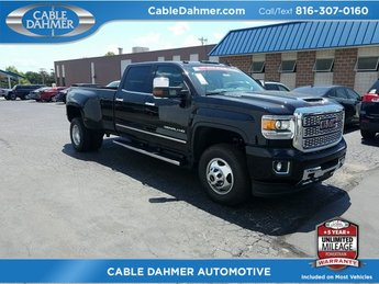 2018 GMC Sierra 3500HD Denali 4 Door 4X4 Duramax 6.6L V8 Turbodiesel Engine