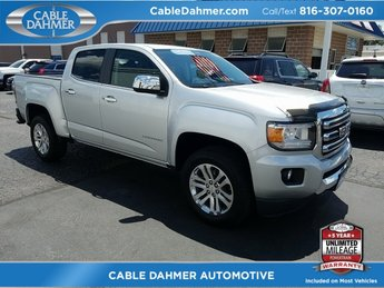 2015 Quicksilver Metallic GMC Canyon 2WD SLT RWD 3.6L V6 DGI DOHC VVT Engine Automatic Truck 4 Door