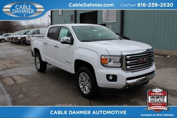2018 Summit White GMC Canyon 4WD SLT 4 Door Automatic V6 Engine 4X4
