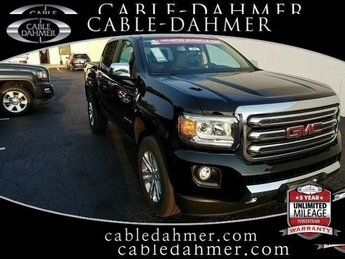2018 Onyx Black GMC Canyon 4WD SLT V6 Engine Truck 4X4 4 Door Automatic