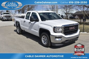 2018 Summit White GMC Sierra 1500 Base RWD 4 Door EcoTec3 5.3L V8 Flex Fuel Engine Automatic