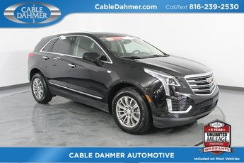 2017 Stellar Black Metallic Cadillac XT5 Luxury AWD Automatic SUV 4 Door