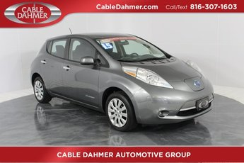 2015 Grey Nissan LEAF S Hatchback 4 Door 80kW AC Synchronous Motor Engine