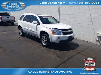 2007 Summit White Chevrolet Equinox LT SUV 3.4L V6 Engine 4 Door AWD Automatic