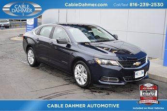2018 Blue Velvet Metallic Chevrolet Impala LS FWD Automatic ECOTEC 2.5L I4 DGI DOHC Engine Sedan