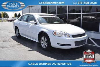 2014 Summit White Chevrolet Impala Limited LS FWD 4 Door Automatic Sedan