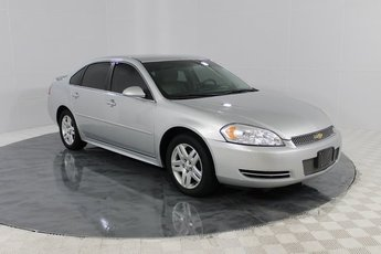 2012 Silver Ice Metallic Chevrolet Impala LT Fleet 3.6L V6 DGI DOHC VVT Engine 4 Door FWD