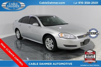 2012 Silver Ice Metallic Chevy Impala LT Fleet Sedan FWD Automatic 4 Door