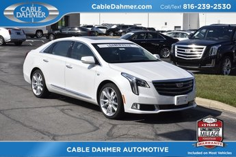 2018 Crystal White Tricoat Cadillac XTS Premium Luxury AWD 3.6L V6 DGI DOHC VVT Engine Sedan 4 Door