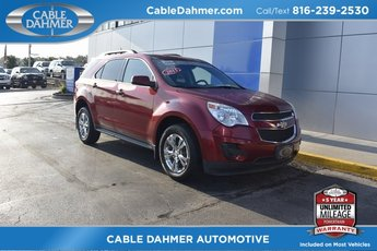 2015 Crystal Red Tintcoat Chevrolet Equinox LT 4 Door Automatic SUV