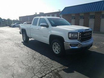 2019 Summit White GMC Sierra 1500 SLE Automatic 4 Door 4X4 5.3L 8-Cylinder Engine