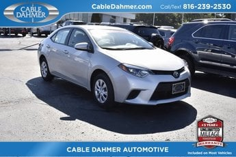 2016 Toyota Corolla L FWD Sedan 4 Door