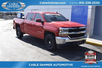 2018 Red Chevy Silverado 1500 LT EcoTec3 5.3L V8 Flex Fuel Engine 4X4 4 Door Truck