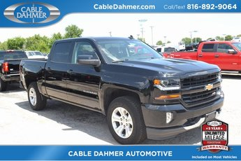 2018 Black Chevy Silverado 1500 LT Truck Automatic EcoTec3 5.3L V8 Flex Fuel Engine 4X4 4 Door