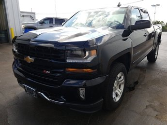 2018 Black Chevy Silverado 1500 LT 4 Door 4X4 Truck Automatic EcoTec3 5.3L V8 Flex Fuel Engine