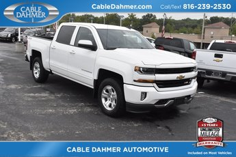 2018 Summit White Chevy Silverado 1500 LT Truck EcoTec3 5.3L V8 Flex Fuel Engine 4X4