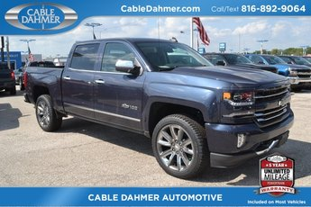 2018 Blue Metallic Chevy Silverado 1500 LTZ 4 Door Automatic Truck 4X4