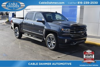 2018 Blue Metallic Chevy Silverado 1500 LTZ 4X4 Truck EcoTec3 5.3L V8 Flex Fuel Engine 4 Door