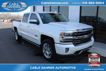 2018 Iridescent Pearl Tricoat Chevy Silverado 1500 High Country Automatic Truck EcoTec3 5.3L V8 Flex Fuel Engine 4 Door 4X4