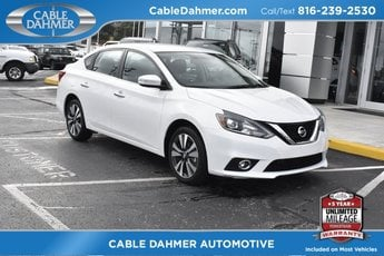 2017 Nissan Sentra SL 1.8L 4-Cylinder DOHC 16V Engine Sedan Manual