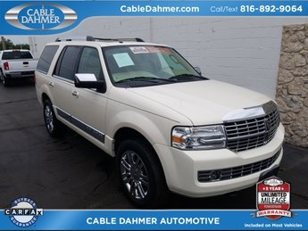 2008 White Chocolate Tri-Coat Lincoln Navigator Base 4 Door SUV 5.4L V8 SOHC 24V Engine 4X4 Automatic