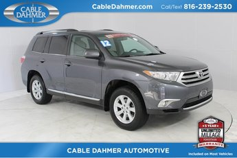 2012 Toyota Highlander Limited 4X4 4 Door 3.5L V6 SMPI DOHC Engine Automatic