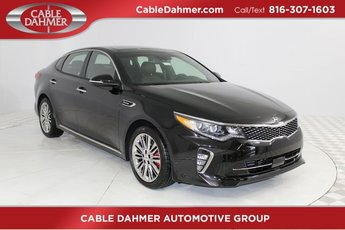 2018 Ebony Black Kia Optima SX FWD 4 Door Automatic Sedan 2.0L 4-Cylinder Turbocharged Engine