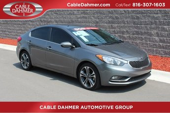 2016 Gray Kia Forte EX FWD 2.0L I4 DOHC Dual CVVT Engine Automatic Sedan 4 Door