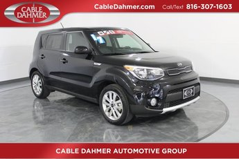 2017 Black Kia Soul + 4 Door I4 Engine Crossover FWD Automatic
