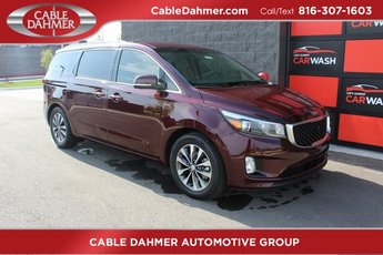 2018 Kia Sedona SX 3.3L 6-Cylinder Engine Automatic FWD 4 Door