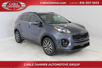 2019 Pacific Blue Kia Sportage EX SUV Automatic FWD 4 Door