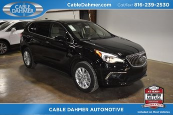 2018 Ebony Twilight Metallic Buick Envision Preferred 4 Door Automatic SUV AWD