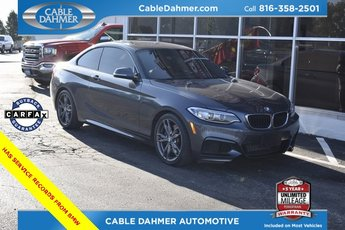 2014 Mineral Gray Metallic BMW 2 Series M235i 2 Door I6 Engine Automatic