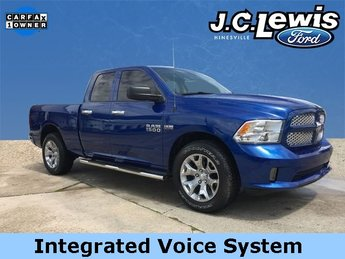 2016 Blue Streak Pearlcoat Ram 1500 Express HEMI 5.7L V8 Multi Displacement VVT Engine Truck Automatic RWD 4 Door