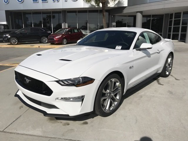 2018 Ford Mustang GT Premium 2 Door Coupe Manual 5.0L V8 Ti-VCT Engine RWD