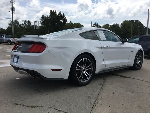 2017 Oxford White Ford Mustang GT 2 Door RWD Automatic 5.0L V8 Ti-VCT Engine Coupe