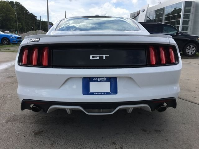 2017 Oxford White Ford Mustang GT Automatic 5.0L V8 Ti-VCT Engine RWD
