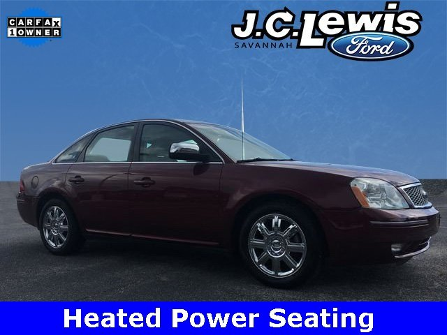 2006 Redfire Clearcoat Metallic Ford Five Hundred Limited 4 Door Duratec 3.0L V6 24V Engine Automatic Sedan FWD