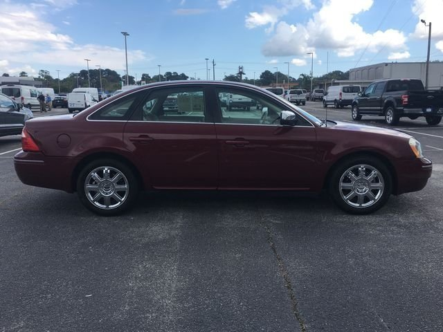 2006 Redfire Clearcoat Metallic Ford Five Hundred Limited Automatic Duratec 3.0L V6 24V Engine FWD