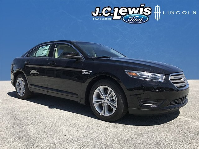 2018 Shadow Black Ford Taurus SEL 4 Door Sedan 3.5L V6 Ti-VCT Engine FWD