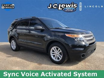 2015 Tuxedo Black Metallic Ford Explorer Base FWD 3.5L 6-Cylinder SMPI DOHC Engine Automatic 4 Door SUV