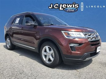 2018 Cinnamon Glaze Metallic Ford Explorer XLT FWD 4 Door 3.5L V6 Ti-VCT Engine Automatic SUV