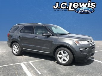 2018 Magnetic Metallic Ford Explorer XLT 3.5L V6 Ti-VCT Engine 4 Door FWD SUV