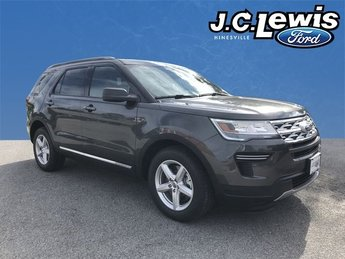 2018 Magnetic Metallic Ford Explorer XLT FWD Automatic SUV 4 Door