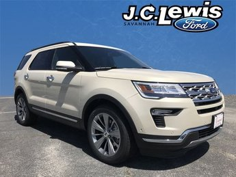 2018 Platinum Dune Metallic Tri-Coat Ford Explorer Limited SUV Automatic FWD 3.5L V6 Ti-VCT Engine 4 Door