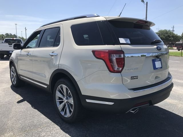 2018 Platinum Dune Metallic Tri-Coat Ford Explorer Limited 3.5L V6 Ti-VCT Engine SUV FWD Automatic 4 Door