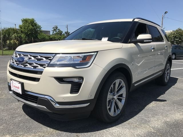 2018 Platinum Dune Metallic Tri-Coat Ford Explorer Limited Automatic FWD 4 Door