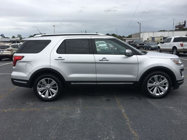 2018 Ingot Silver Metallic Ford Explorer Limited SUV Automatic FWD